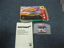 Automobili Lamborghini N64 with Box Nintendo