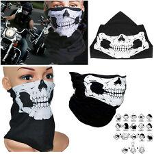 Fashion Skeleton Black Face Mask Scarf Hat Tour Skull Helmet Cycling Motorbike