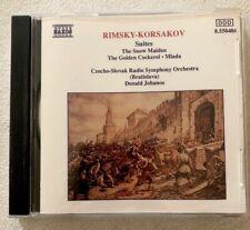 Rimsky-Korsakov - Snow Maiden - Mlada CD NAXOS 1991