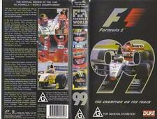MOTOR SPORT FORMULA ONE 1999  VHS VIDEO PAL A RARE FIND