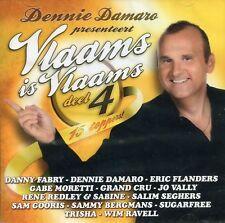 Dennie Damaro presenteert Vlaams is Vlaams : Deel 4 (CD)