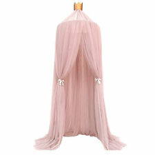 Princess Bed Canopy Round Dome Insect Mosquito Net Kids Girls Room Decoration