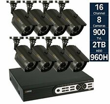 Q-See QT5716-8V3 16-Channel DVR 960H Security Surveillance System with 2TB