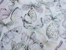 Designers Guild Curtain Fabric 'PAPILLONS' 2.3 METRES (230cm) SHELL 100% Cotton