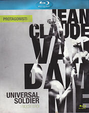 Blu-ray **UNIVERSAL SOLDIER ♦ I NUOVI EROI** con Van Damme nuovo Slipcase 1992
