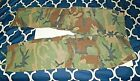 PAIR OF VINTAGE GREEN ARMY CAMOUFLAGE COMBAT PANTS
