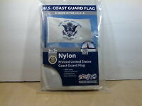 3' X 5' Coast Guard Flag - Grommet - Nylon - Made in U.S.A. - Brand NEW