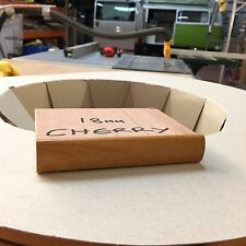 18MM T TRIM CHERRY TABLE TRIM 5 METRE FURNITURE KNOCK ON EDGING VW CAMPERVAN
