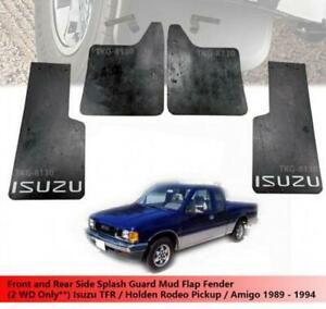 Front And Rear Splash Guard Mud Flap Fender For (2WD) Isuzu TFR Pickup 1989 - 19