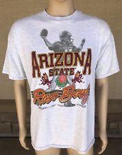 Vintage 90s 1997 Arizona State Sun Devils Football Rose Bowl T Shirt USA Made XL