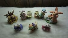 Lot of 7 Assorted Easter Figurines
