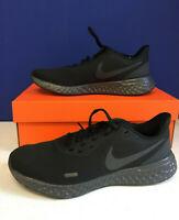Nike Womens Revolution 5 BQ3207-001 Running Black Anthracite Shoes Size US 9 Reg