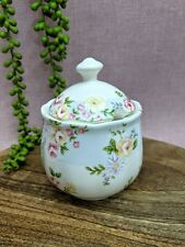 Robert Gordon Liberty Sugar Bowl w Lid Chintz Flowers Floral Country Farmhouse