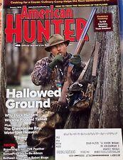 The American Hunter Magazine Jan 2014 NRA Gun Duck Hunting Predatory Thinking
