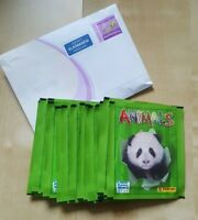 Animals Stickers PANINI- 15 package (75 stickers) Panini Animal World