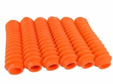 FLUORESCENT ORANGE Shock Boots 6 PACK for Jeep Truck and SUV UNIVERSAL FITMENT