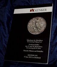 Kunker giu 2010 catalogo asta numismatica monete medaglie mondiali