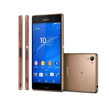 """Sony Ericsson Xperia Z3 D6603 16GB Unlocked 5.2"""" Android Smartphone Gold Copper"""