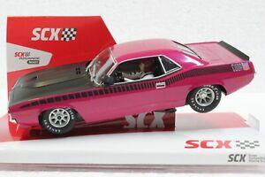 SCX Cuda AAR Pink Panther U10365X300 1/32 Slot Car.  LIMITED EDITION #372