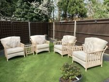 Holloways Austen Conservatory set - 4 chairs, cushions, 2 side & 1 coffee table