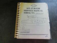 Versalift SST-37/40-EIH Service Manual   28010-00   10-00