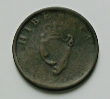 1805 IRELAND (UK) King George III Coin - Half Penny (1/2d) - surface corrosion