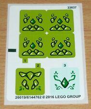 Lego Elves Aufkleber aus Set 41176, komplett