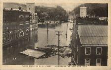 Montpelier VT 1927 Flood Damage VINTAGE EXC COND Postcard #11
