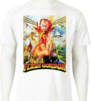 Flash Gordon Dri Fit T-shirt printed active wear retro 80s movie superhero tee