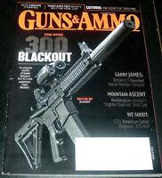 Guns & Ammo Magazine March 2013 ~ Daniel Defense SBR .300 Blackout ~ Volley Gun+