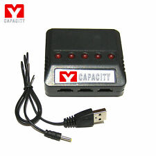 5 in 1 Battery Charger USB Syma X5SW X5SC X5C -1 X5 X3 F4 X4 X2 /Hubsan X4 H107D