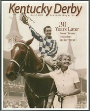 "2003 - SECRETARIAT on Kentucky Derby Souvenir Magazine Cover Photo - 8"" x 10"""