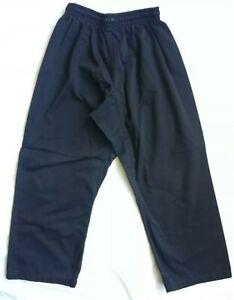 Bold Look Karate Gi Martial Arts Uniform Pants Black Student Boy Girl Youth 2