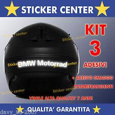 KIT 3 ADESIVI + OMAGGIO BMW MOTORRAD R 1200 GS CASCO MOTO