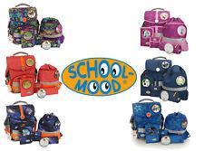 Schulranzen School Mood 6 Designs für Mädchen oder Jungen Set 6 teilig Tornister