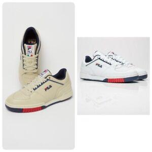 Fila Targa Italy Men's Leather Sneakers 1TM00001 100% Authentic.