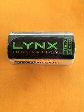"12 ""D"" Size New LYNX D Cell Alkaline 1.5v Batteries Exp 2018"
