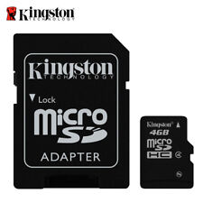 Scheda di Memoria MicroSD Kingston 4gb Classe 4 Memory Card Micro SD Blister