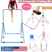 Kids Gymnastics Bar Jungle Training Monkey Bar Adjustable Horizontal Kip Bar Gym