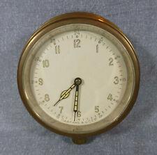 Russian Cold War Era Brass Ships Clock