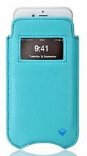iPhone 8/7 Boites Porte-feuille Fenêtre Faux Bleu NUEVUE Auto Nettoyage