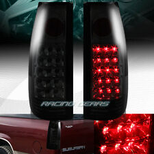 DARK SMOKED LENS LED REAR TAIL LIGHTS LAMPS FIT 88-98 CHEVY/GMC C10 TRUCK SUV