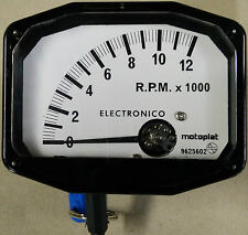 Compteur Motoplat 12000 RPM Moto 2 temps Krober style drehzahlmesser cuentarpm