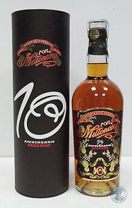 Rum/Ron MILLONARIO 10 Aniversario Reserva con Tubo