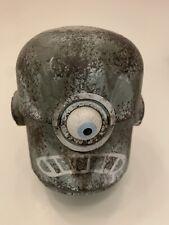 ThreeA Ashley Wood 3A Popbot NABLER Robot Head Rare Grey Frown Wwr Tk
