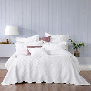 Bianca Cordelia Bedspread Set White