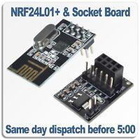 NRF24L01 Wireless RF Transceiver Module AND Socket Adapter Regulator Board