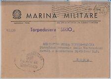 ITALIA  - FRANCHIGIA MILITARE: MARINA - Nave : TORPEDINIERA Sirio