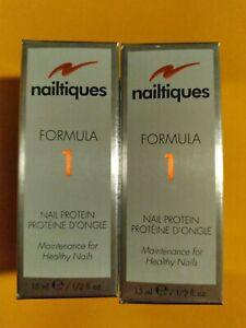 NAILTIQUES FORMULA 1 PROTEIN 2 X 15ML  EXP 12/2023