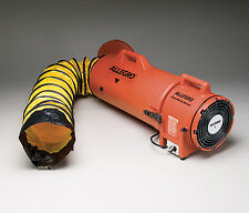 "Allegro 9533-15 Confined Space 8"" AC Plastic Blower with 15"" Ducting"